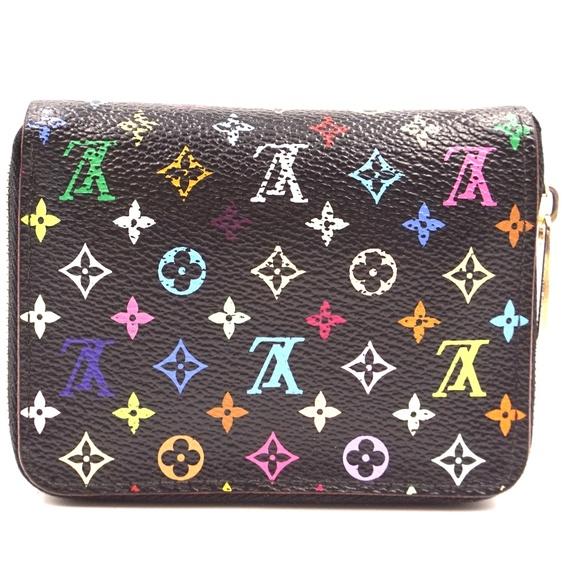 Louis Vuitton Handbags - Black Multicolor Multicolore Monogram Square  Case